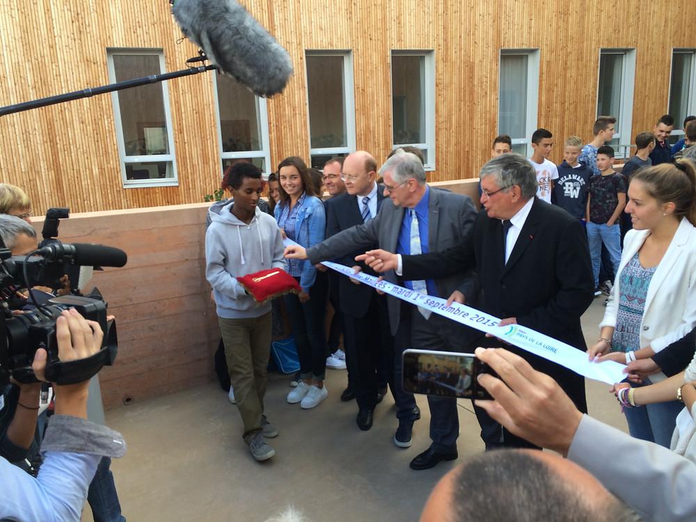 Inauguration du lycée de Beaupréau