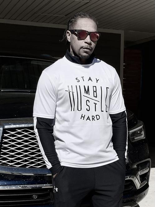 T-Shirt - Stay Humble Hustle Hard