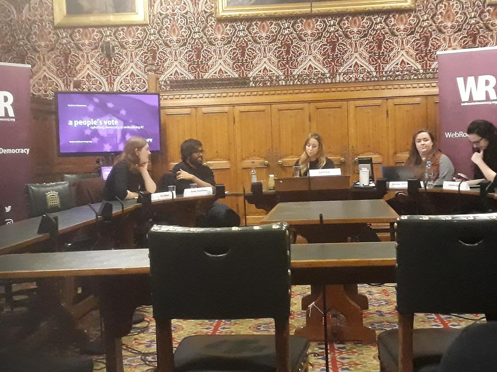 Ella Whelan, Areeq Chowdhury, Catrin Nye, Amanda Chetwynd-Cowieson and Cathleen Clarke
