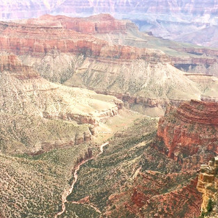 The Grand Canyon in its grandeur