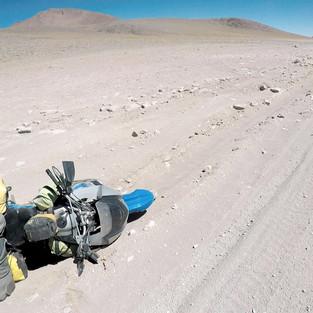 Loosing control in the highlands of Bolivia (Reserva Nacional de Fauna Andina Eduardo Avaroa)