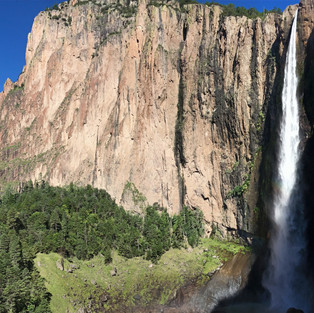 Basaseachi waterfall (Mexico)