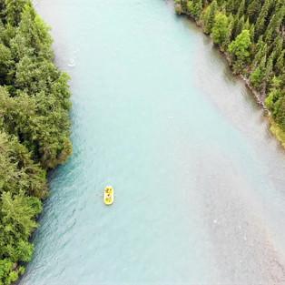 Rafting on the Kenai River (Alaska)