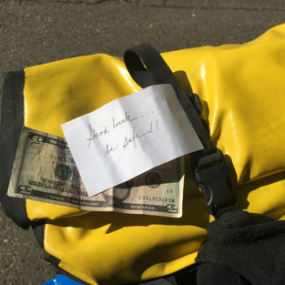 $5 and a note from a stranger (Bozeman, Montana)