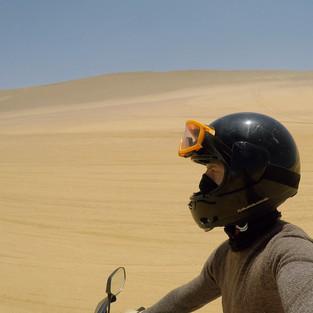 Tasting the sands of Paracas (Peru)