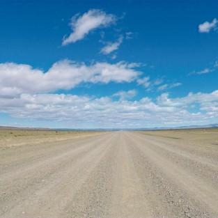 Flatlands of Argentinian Patagonia