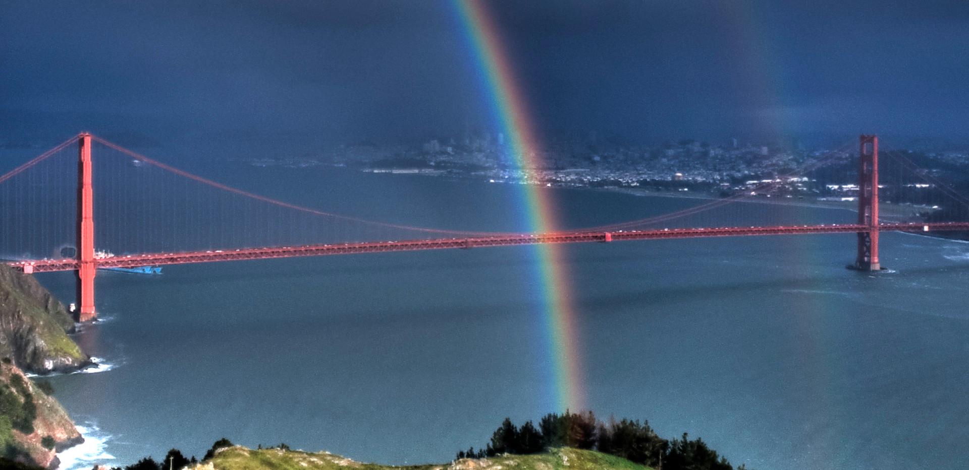 The Bridge and Rainbow