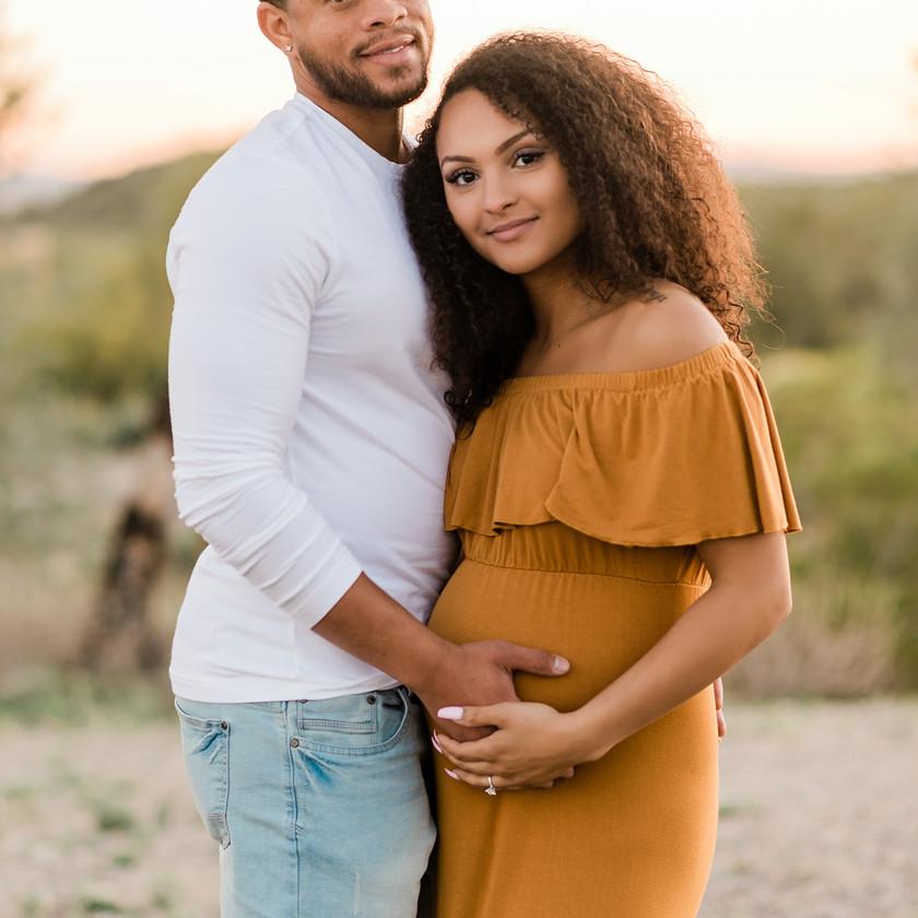 buckeye arizona maternity photographer