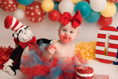 tolleson baby cake smash photographer