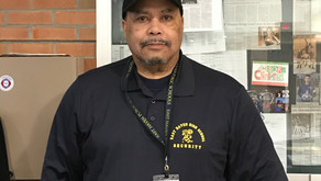 John Vaughn's First Days as One of Our New EHHS Security Guard
