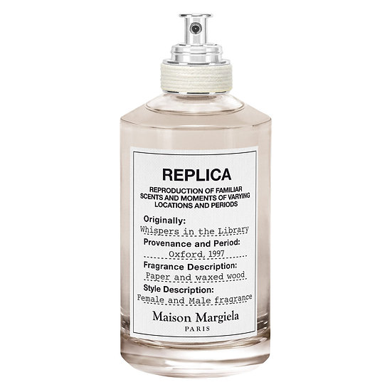 Maison Margiela 'Replica' Whispers in the Library