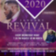 Copy of Revival Flyer - Made with Poster