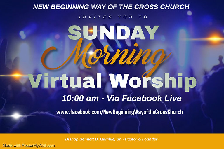 Copy of ONLINE CHURCH SERVICE - Made wit