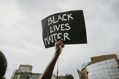 Black lives matter movement protesting