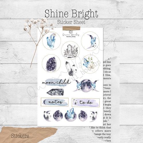 Shine Bright Stickers