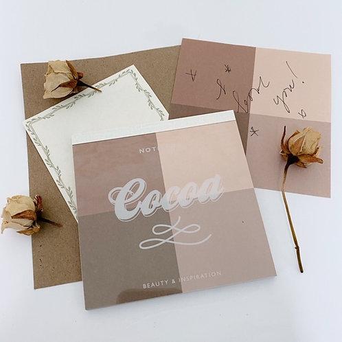 Cocoa Note Pad