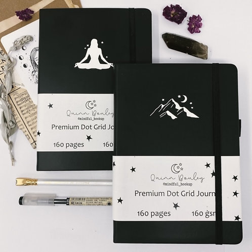 A5 Black and White Signature Journal
