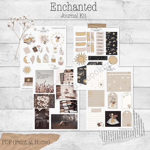 Enchanted Journal and Planner Kit