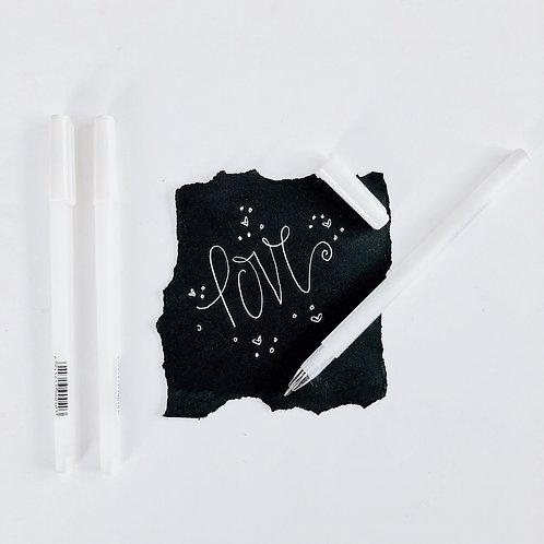 White Gel Pen