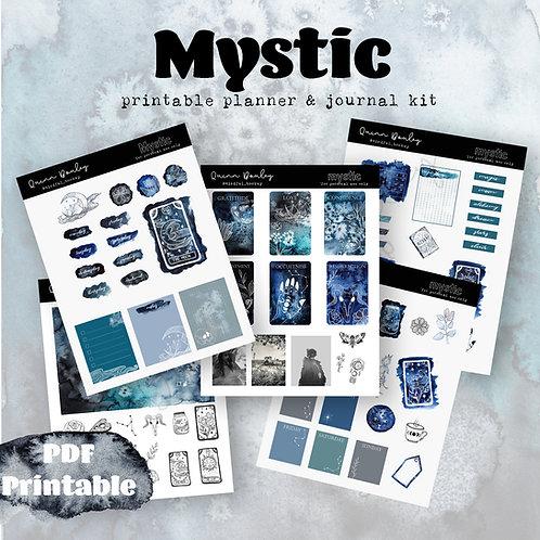 Mystic Printable Journal / Planner kit