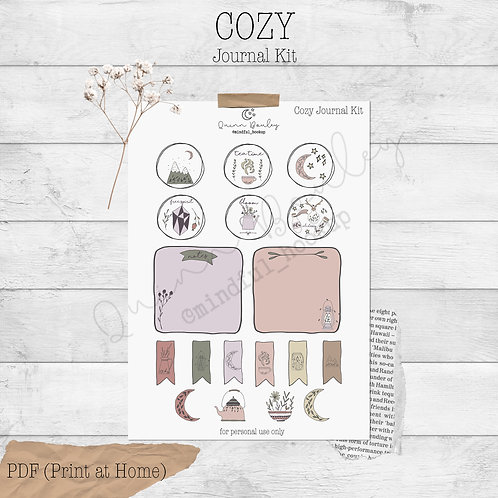 Cozy Journal and Planner Kit