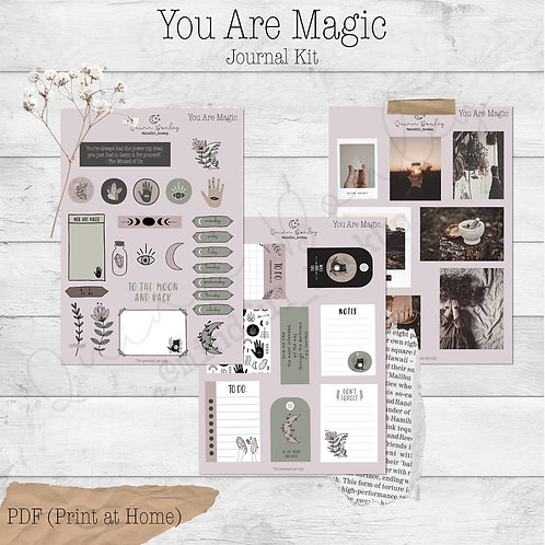 You Are Magic Journal and Planner Kit