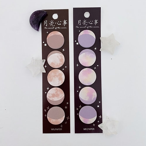 Moon Sticky Tabs