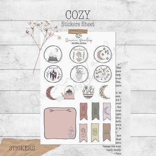 Cozy Stickers