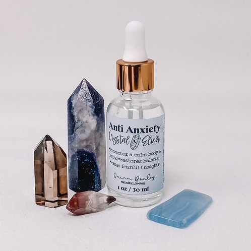 Anti Anxiety Crystal Elixir