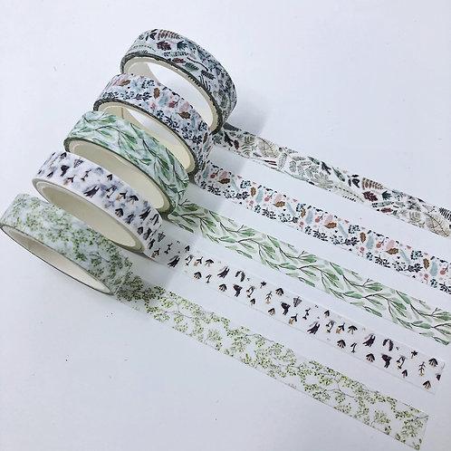 Delicate Flora Washi Set