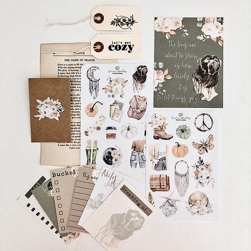 Cozy Season Mini Journal Kit