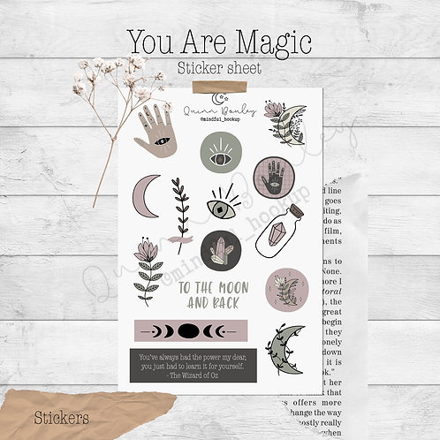 You are Magic Stickers