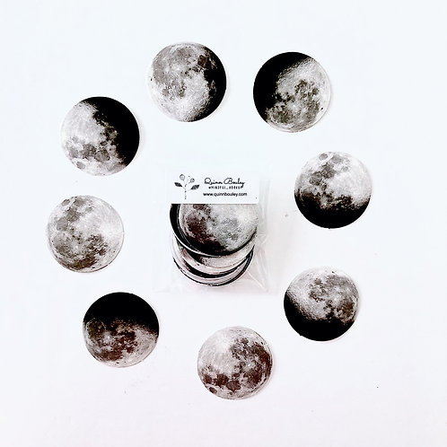 Moon Phase Stickers