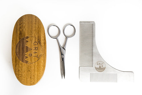 Green Mountain Grit Beard Grooming Tools