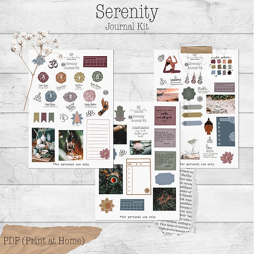 Serenity Journal and Planner Kit