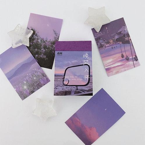 Purple Universe Mini Book