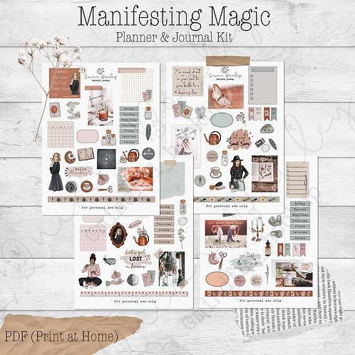 Manifesting Magic Journal & Planner Kit