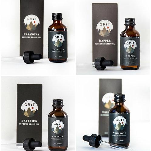 Green Mountain Grit Supreme  Beard Oil   2 fl oz