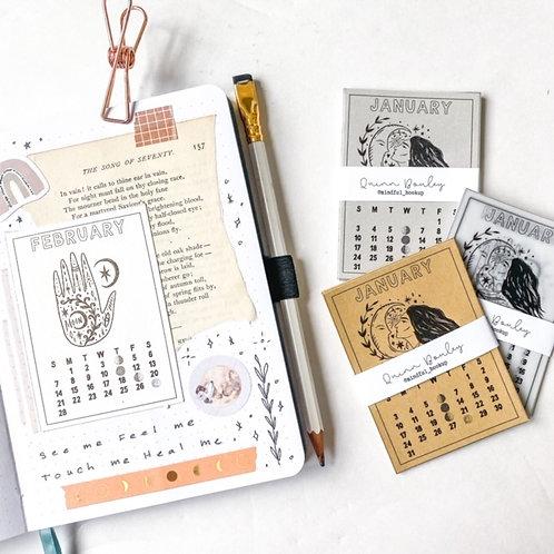 2021 Mini Moon Calendars