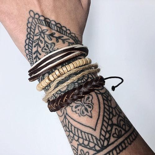 Natural Vibes Bracelet Set
