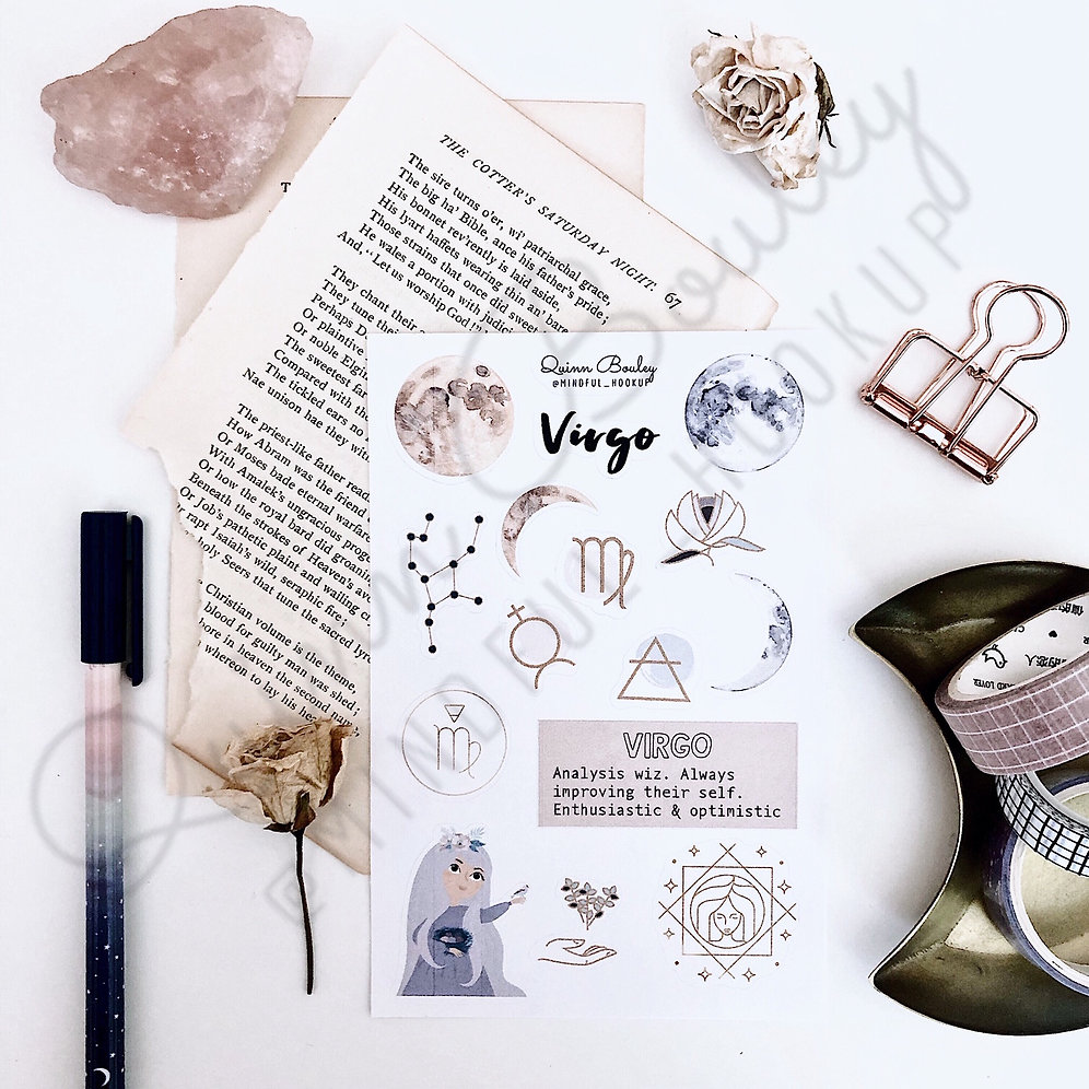 Zodiac Sticker Sheets