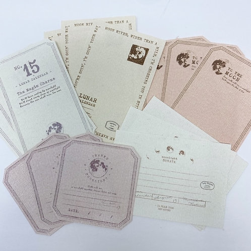 Lunar Note Papers