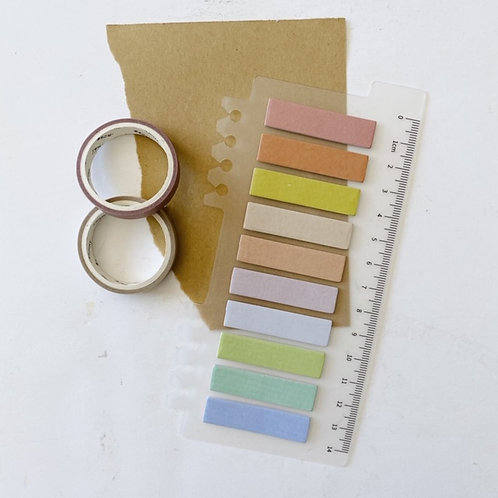 Colorful Sticky Flag Set