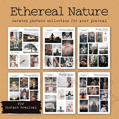 Ethereal Nature curated printable photos