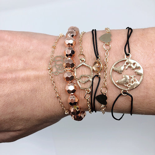 One Love Bracelet Set