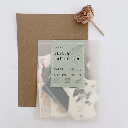 Sketch Collection Ephemera Pack