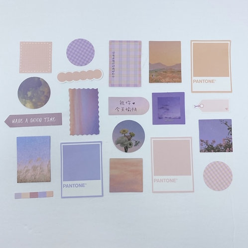 Pastel Ephemera Pack