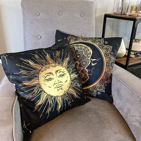 Sun & Moon Pillow covers