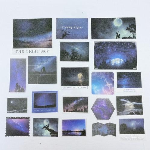 Night Sky Lifestyle Stickers