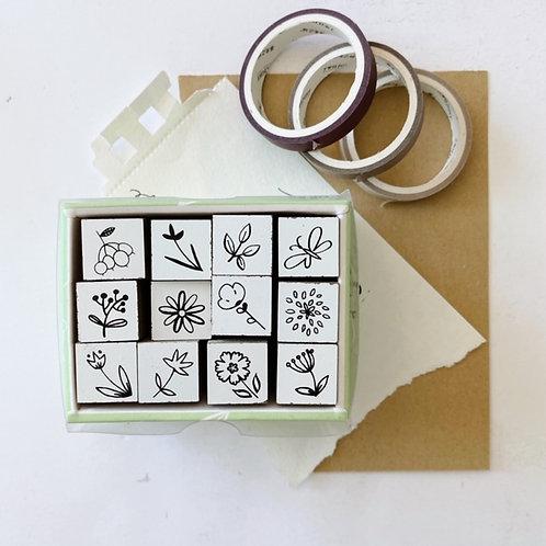 Mini spring Stamp Set